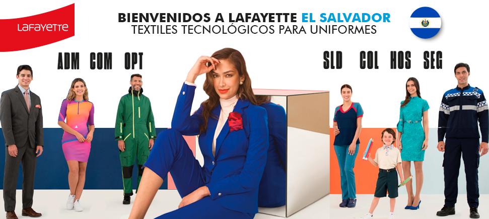 Telas para uniformes en El Salvador