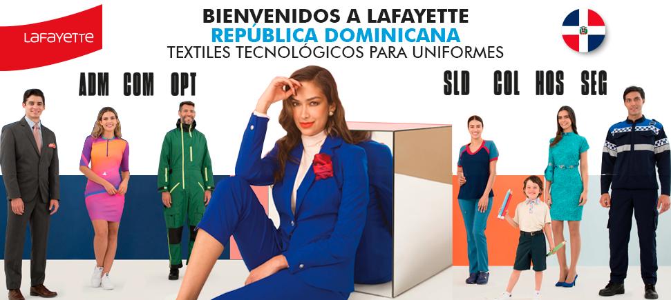 Telas para uniformes en República Dominicana