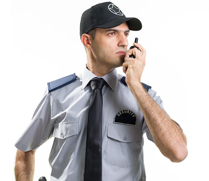 Textiles que cumplen con las normas de los uniformes de seguridad privada